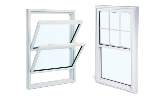 double tilt hung windows