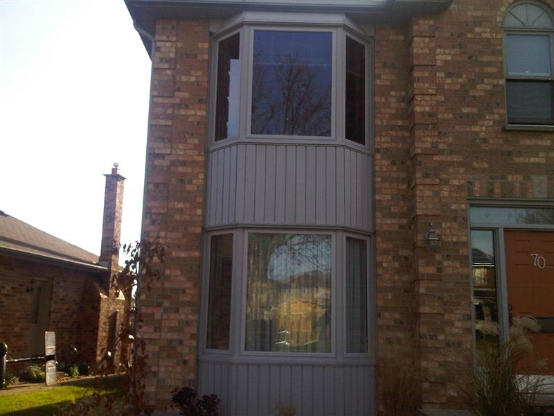 bay window installation