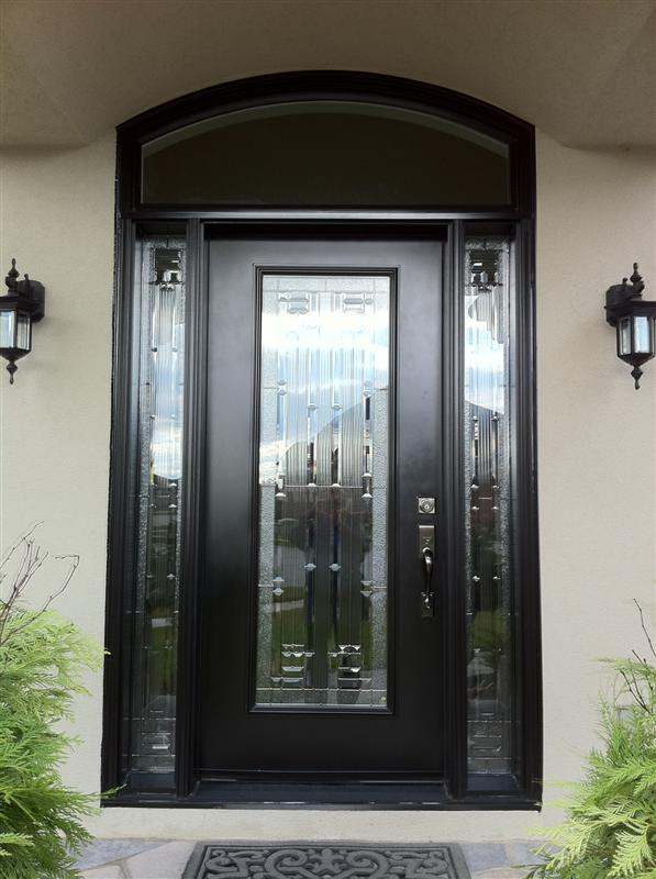 Door with transom