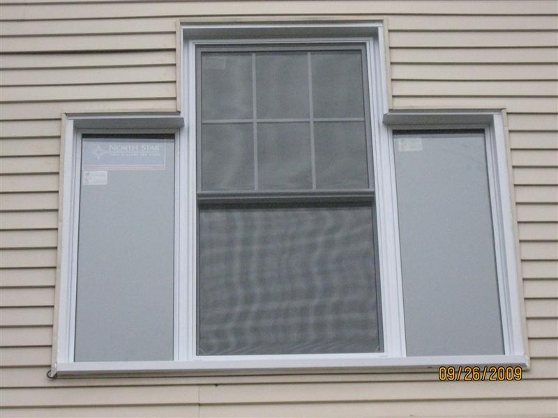 Finished windows