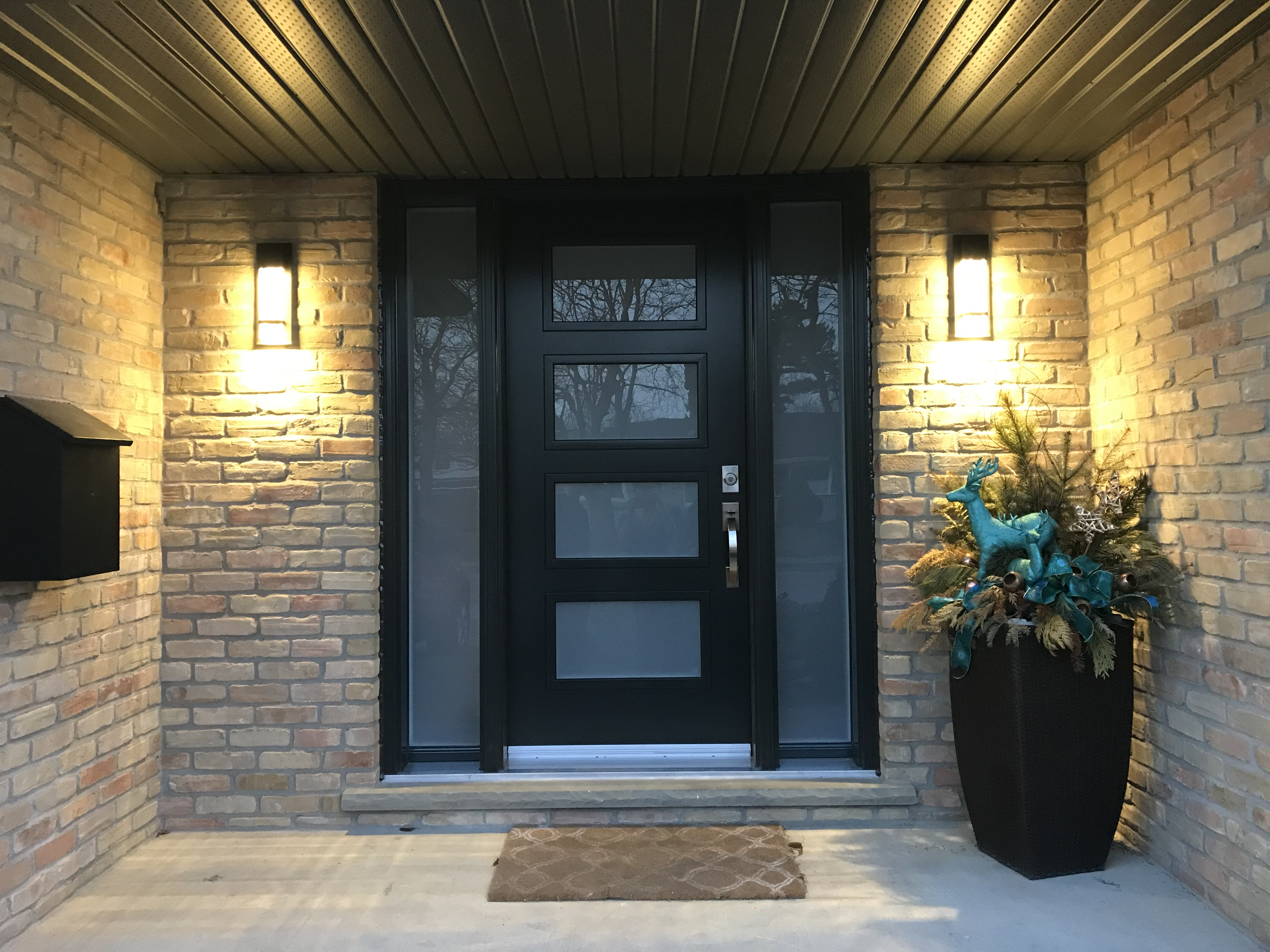 Front door from outside