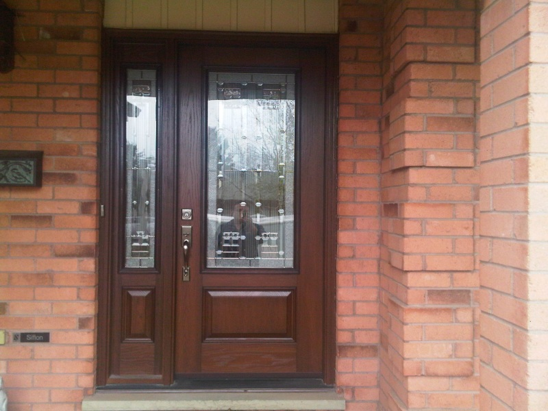 fiberglass door &sidelight